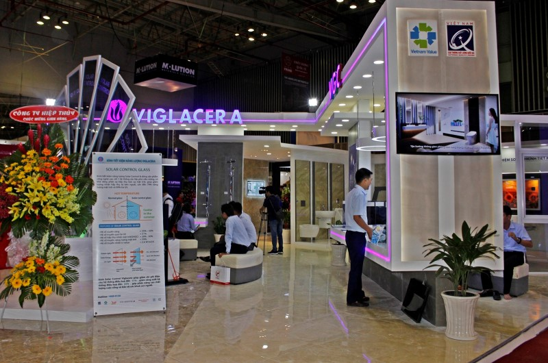 Viglacera successes at the Vietbuild Exhibition Ho Chi Minh 2017
